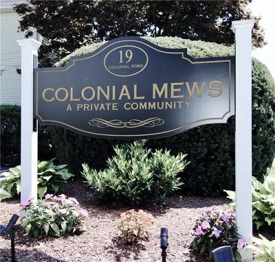 Stamford Condo/Townhouse For Sale: 19 Colonial Road #3