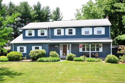 Simsbury Single Family Home For Sale: 1 Tim Clark Circle