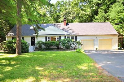 Avon CT Single Family Home For Sale: $319,000