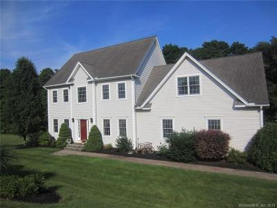 Tolland Single Family Home For Sale: 20 Shores Drive