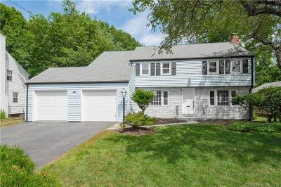 West Hartford Single Family Home For Sale: 12 Hartwell Road