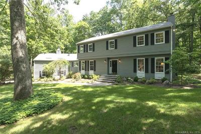 Wilton Single Family Home For Sale: 254 Olmstead Hill Road