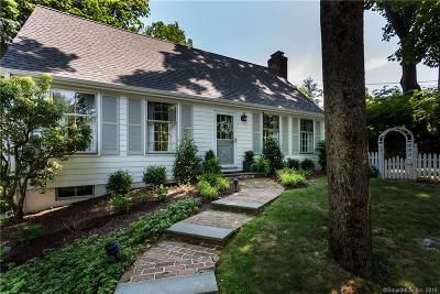 Darien Single Family Home For Sale: 1714 Boston Post Road
