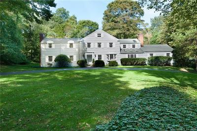 New Canaan Single Family Home For Sale: 148 Ferris Hill Road
