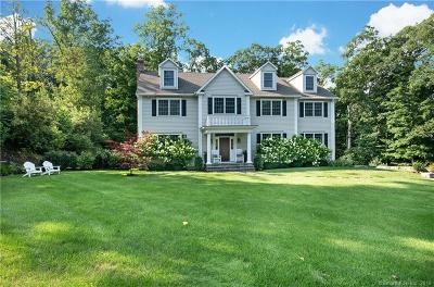 New Canaan Single Family Home For Sale: 248 Spring Water Lane