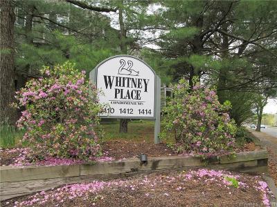 Hamden Condo/Townhouse For Sale: 1414 Whitney Avenue #C3