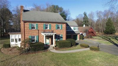 South Windsor Single Family Home For Sale: 1030 Ellington Road