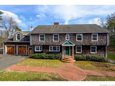 Simsbury Single Family Home For Sale: 15 Sand Hill Road