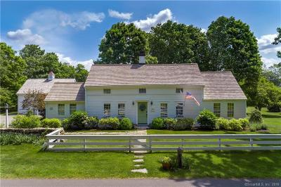 Ridgefield Single Family Home For Sale: 400 Silver Spring Road