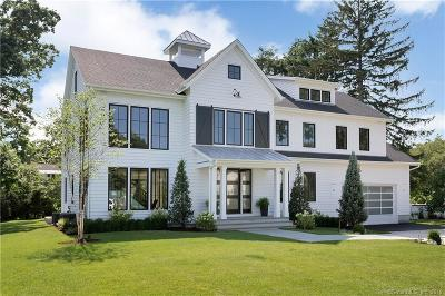 New Canaan Single Family Home For Sale: 148 Douglas Road