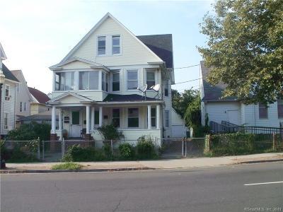 Bridgeport Multi Family Home For Sale: 525 Connecticut Avenue