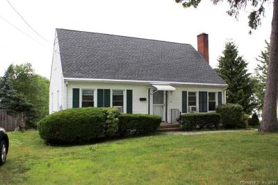 Wethersfield Single Family Home For Sale: 621 Wolcott Hill Road