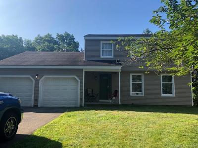 Meriden Single Family Home For Sale: 40 Montowese Drive