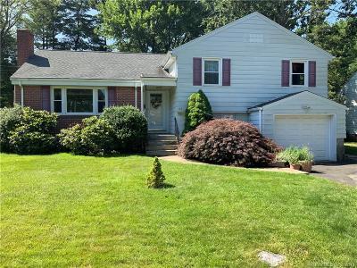 West Hartford Single Family Home For Sale: 55 Haynes Road