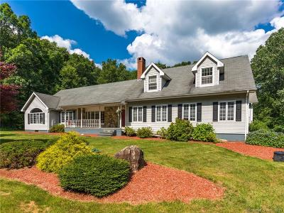 Tolland Single Family Home For Sale: 12 Barbara Road