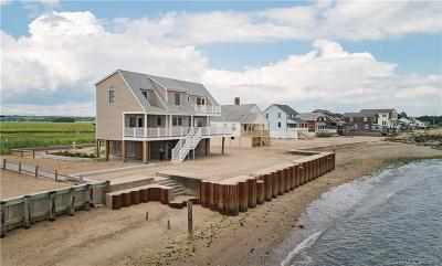 New Haven County Single Family Home For Sale: 81 Circle Beach Road