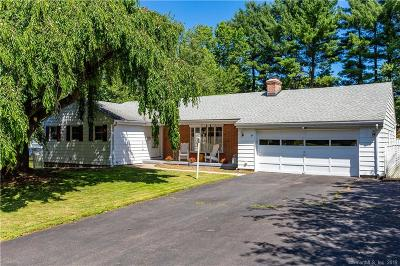 West Hartford Single Family Home For Sale: 84 Whitehill Drive