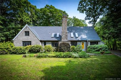 Ridgefield Single Family Home For Sale: 4 Old Oscaleta Road