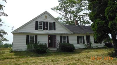 Single Family Home For Sale: 1063 Ekonk Hill Road