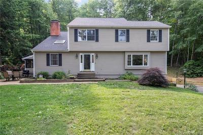 Simsbury Single Family Home For Sale: 33 Northgate