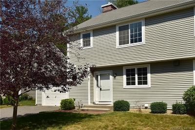 Mansfield Condo/Townhouse For Sale: 37 Liberty Drive #37