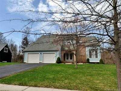 Meriden Single Family Home For Sale: 101 Collindale Drive