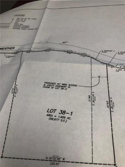 Windham County Residential Lots & Land For Sale: 38-1 Starkweather Road