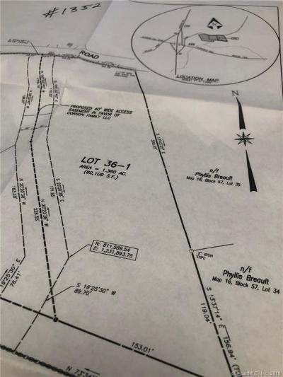 Windham County Residential Lots & Land For Sale: 36-1 Starkweather Road