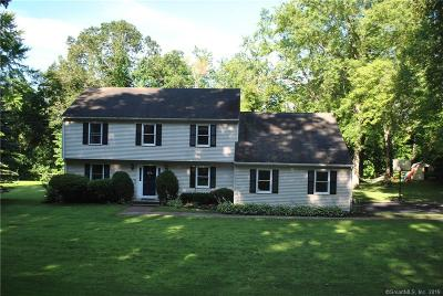New Milford Single Family Home For Sale: 493 River Road