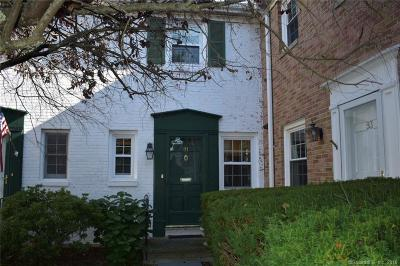 New Canaan Condo/Townhouse For Sale: 91 Heritage Hill Road #91
