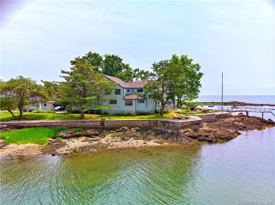 Branford Single Family Home For Sale: 77 Sunset Beach Road