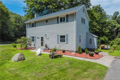 Tolland Single Family Home For Sale: 185 Reed Road