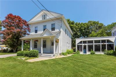 Stonington Single Family Home For Sale: 7 Broadway Avenue