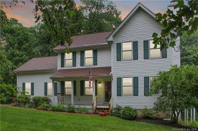 Hamden Single Family Home For Sale: 351 Gaylord Mountain Road