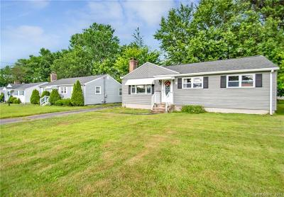 Wethersfield Single Family Home For Sale: 31 Marmor Court