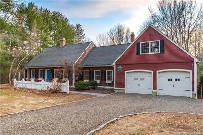 Tolland Single Family Home For Sale: 305 Buff Cap Road