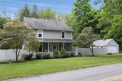 Fairfield County, New Haven County Single Family Home For Sale: 49 Obtuse Road North