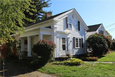Suffield Single Family Home For Sale: 186 North Main Street