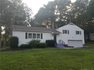 Newington Single Family Home For Sale: 291 Back Lane