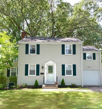 East Hartford Single Family Home For Sale: 1161 Forbes Street