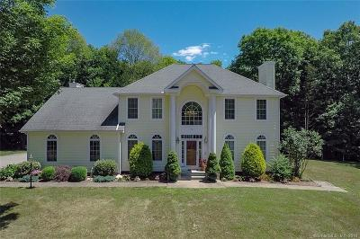 Willington Single Family Home For Sale: 75 Miller Farms Road