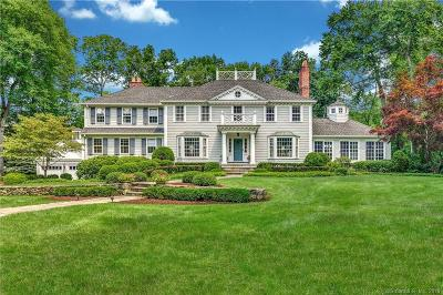 New Canaan Single Family Home For Sale: 7 Wahackme Lane