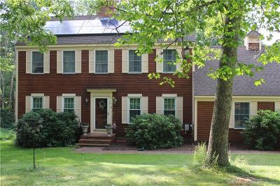 Plainfield, Voluntown, Griswold, Sterling, Killingly Single Family Home For Sale: 147 Snake Meadow Road