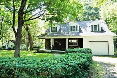 Coventry Single Family Home For Sale: 165 & 155 Cedar Swamp Road