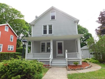 Norwich Single Family Home For Sale: 1 Julian Terrace