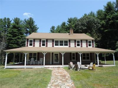 Simsbury Single Family Home For Sale: 9 Nod Brook Drive