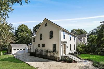 Darien Single Family Home For Sale: 34 Fitch Avenue