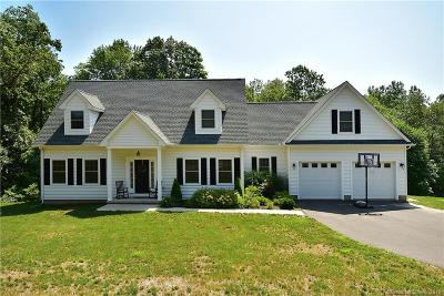 Suffield Single Family Home For Sale: 1044 Ratley Road