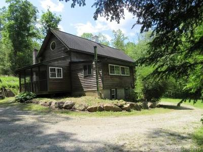 New Milford Single Family Home For Sale: 78 Mud Pond Road