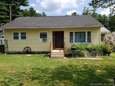 Killingly Single Family Home For Sale: 21 Humes Road